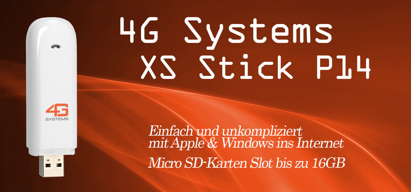 4GB Systems XS Stick P14